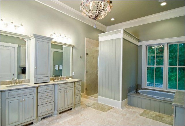 great master bathroom