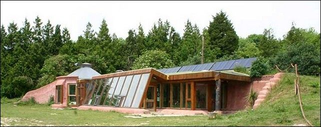 sustainable homes earthship type