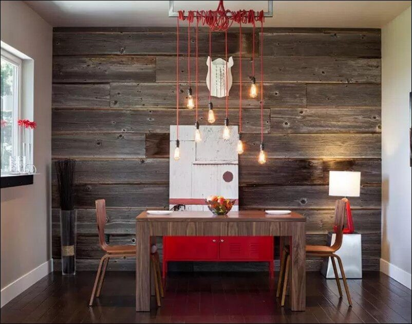 Reclaimed Wood Table Image