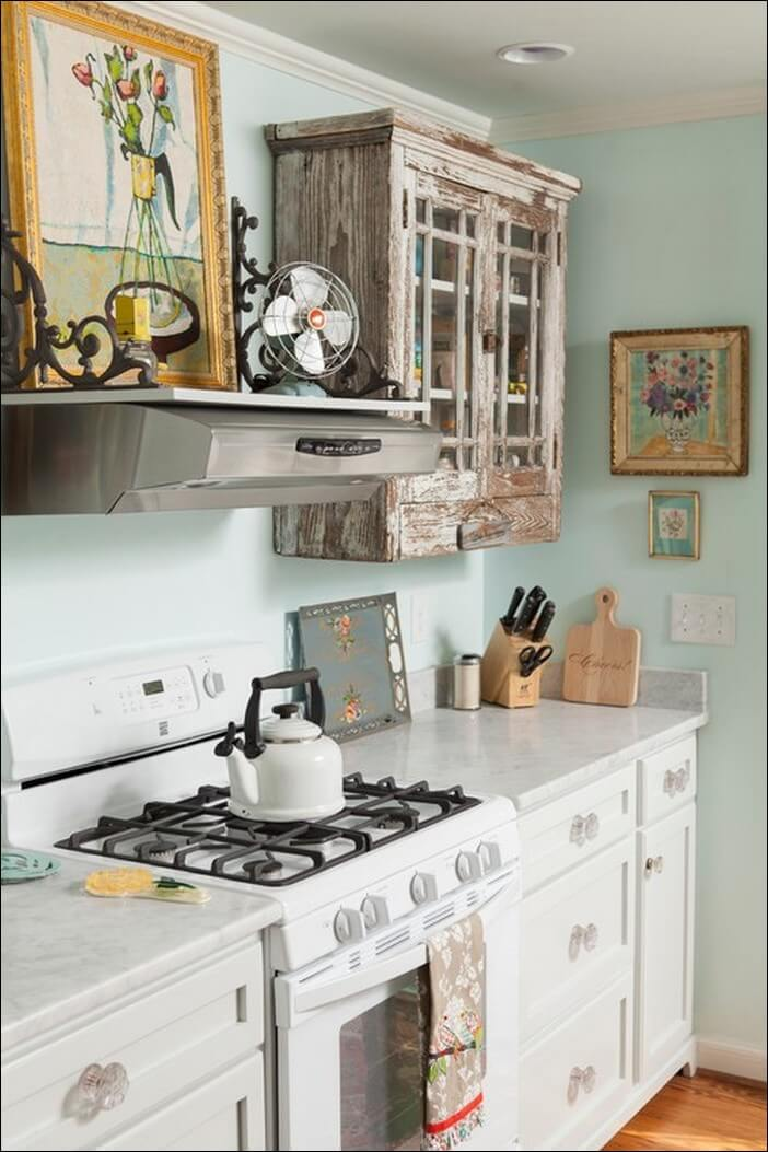Reused Kitchen cabinet