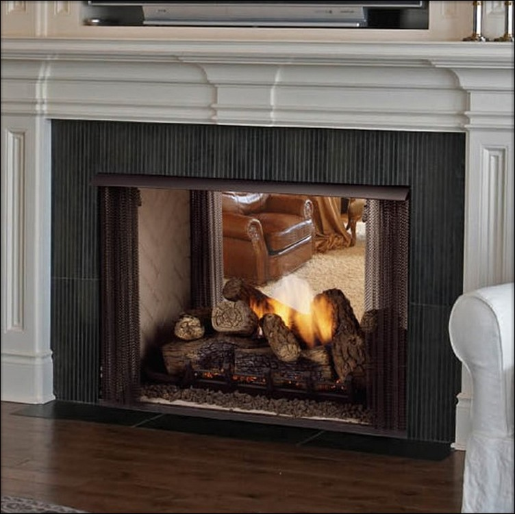 image ventless gas fireplace