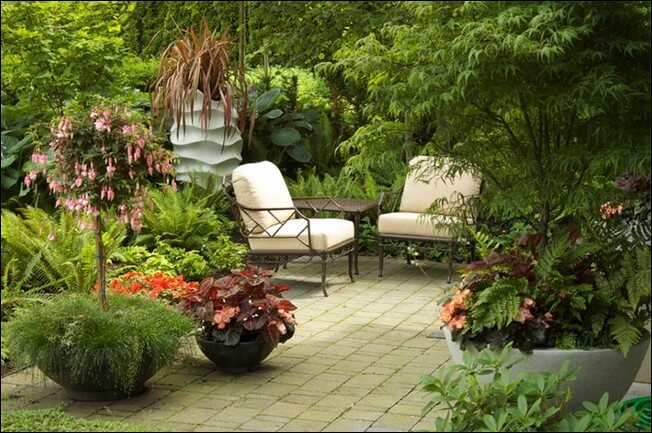 patio in small space
